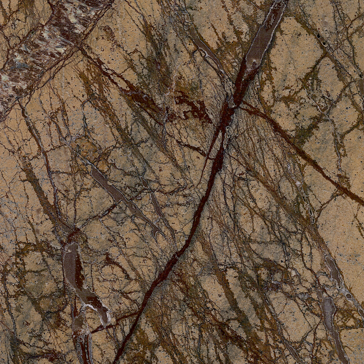 Low price Forest Rain Brown marble tile marble wall stone