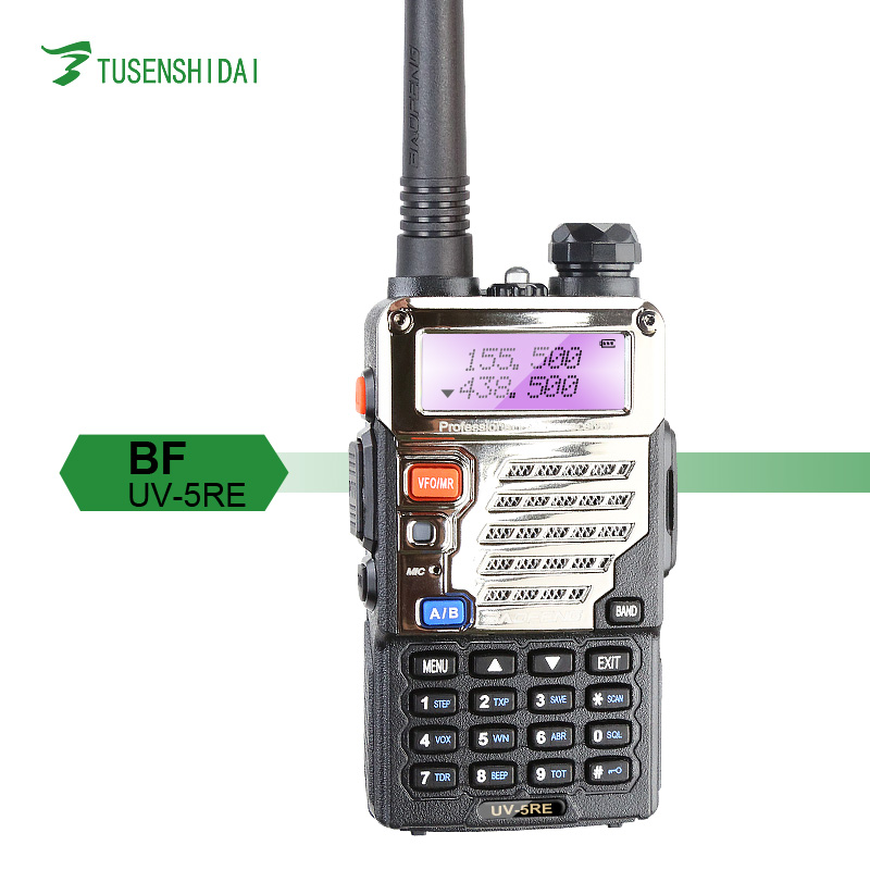 Long Range Baofeng UV-5RE Repeater Two Way Communication System dmr Radio UV-5RE 5W / 1W 128CH Wireless Walkie Talkie