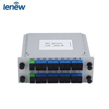 SC/PC 2x16 Optical Fiber PLC Splitter Importance Of Communication