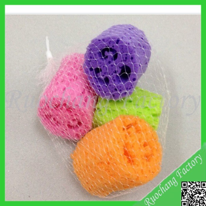 2015 High quality Soft Loofah Bath Sponge