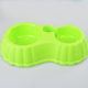 RoblionPet Hot sell eating double bowl pet feeder smart drink eating utensils dog feeding bowl