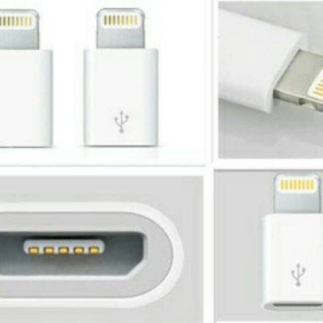 For 8pin OTG Converter Light to Micro USB Adapter Charging And Data Sync OTG Adapter for iphone ipad ipod device