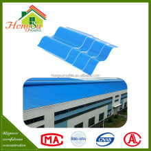 Factory price corrosion resistance 2 layer plastic pvc lightweight roof tile