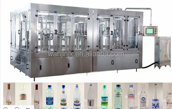 Factory price automatic small bottled drinking mineral water filling machine
