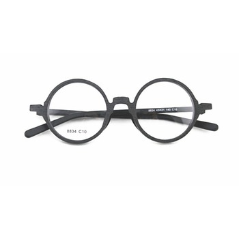 2018 Wholesale Round Optical Frames Fashion Wood Spectacle Frame In ...