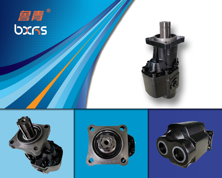 Hyva front lifting system forGear pumps ISO 4H BR series: BI-Rotational