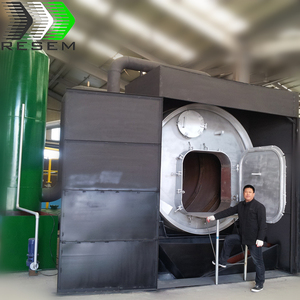 PET bottle recycling to oil pyrolysis machine