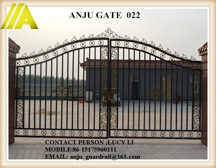 High Quality Wrought Gate Indian House Main New Design Iron Gate ...