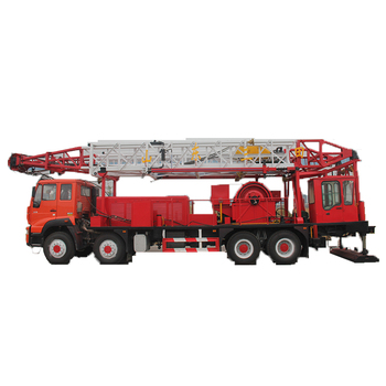 Model XJ700-W 40 tons free standing truck mounted workover rig