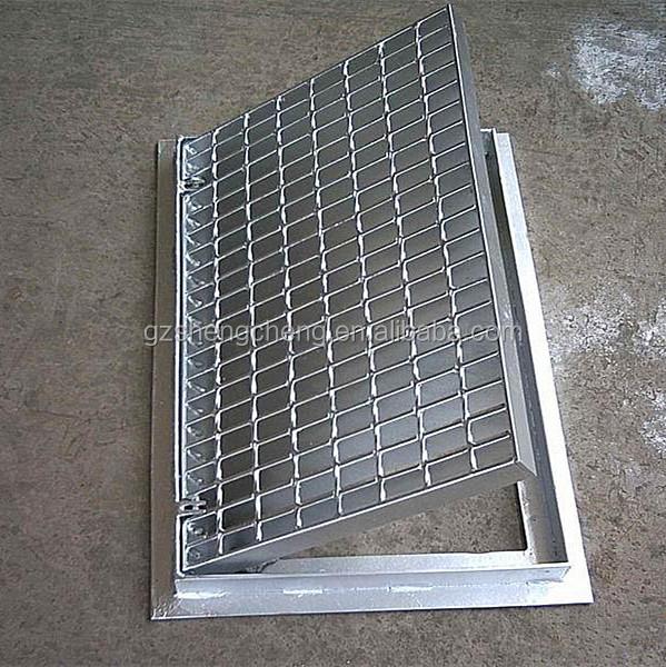 Industrial grating Metal floor drain grate Stainless steel grating