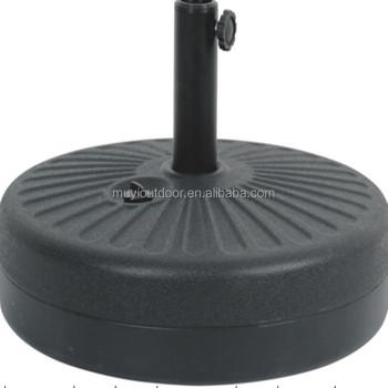 Charmant Heavy Duty 22Kgs Patio Round HDPE Plastic Water Umbrella Base/Umbrella Base  Parts