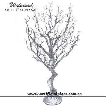 Wefound Silver Manzanita Branch Wedding Table Tree Centerpieces 27
