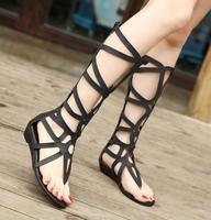 zm53415a latest ladies gladiator sandals ROMAN style women alce up sandals