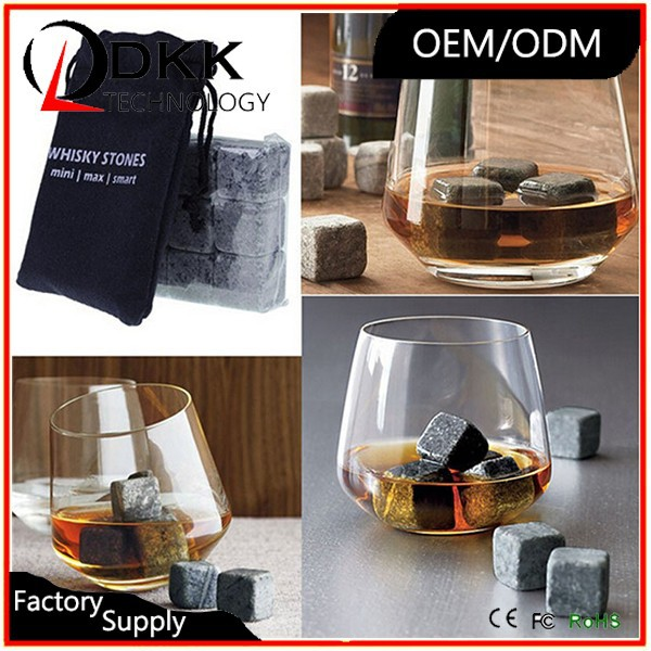 New Whiskey Rock Stone Cube Whisky Ice Cubes/ Whisky Stone/ Whiskey Stone <strong>Wine</strong> Cooler Heater Stones ROCK