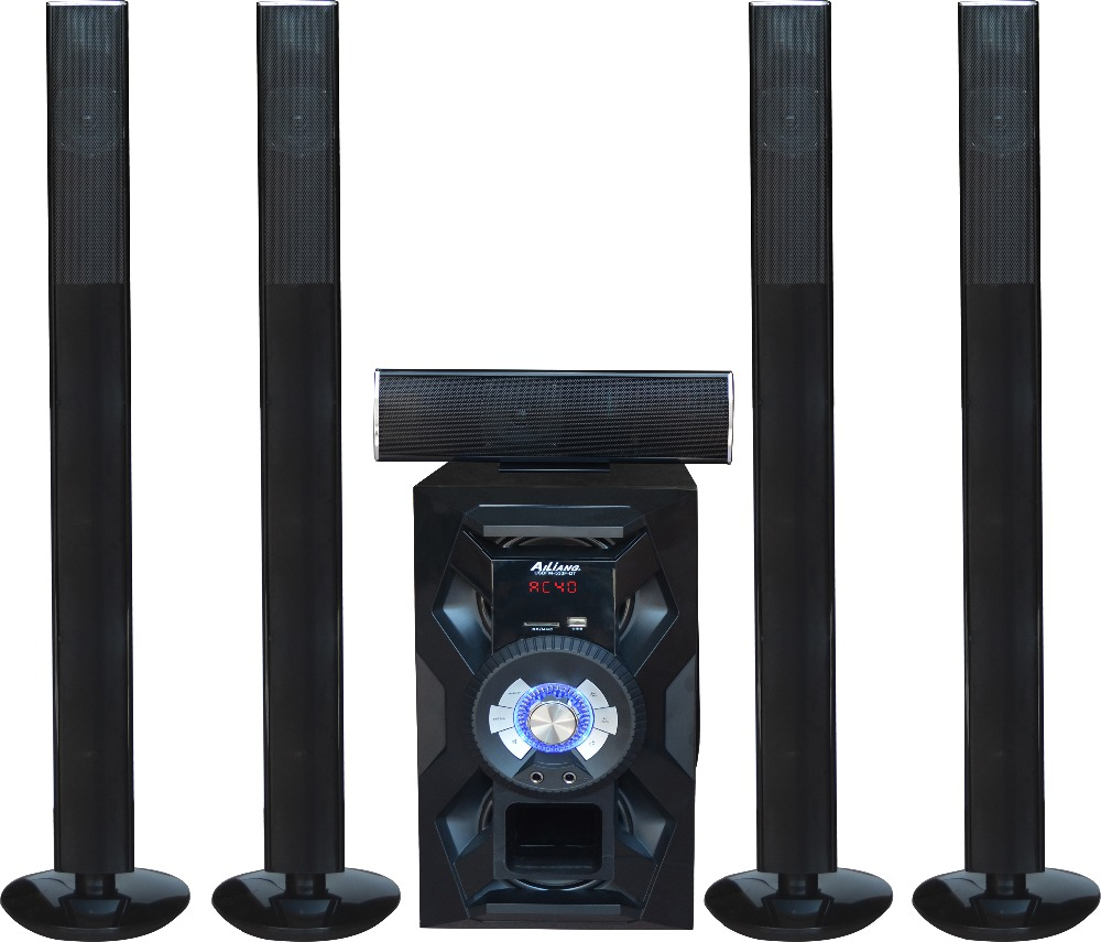 ailiang 5.1big power tower speaker home theate system USBFM-533F-DT/5.1