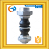 Free Shipping Double Sphere Metal Ring Union Rubber Joint