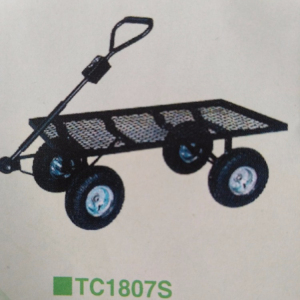 Hot sale garden pneumatic tire tool cart TC1807S
