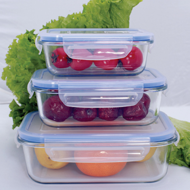Use for Home, Kitchen and Restaurant food storage Glass Food Storage Container