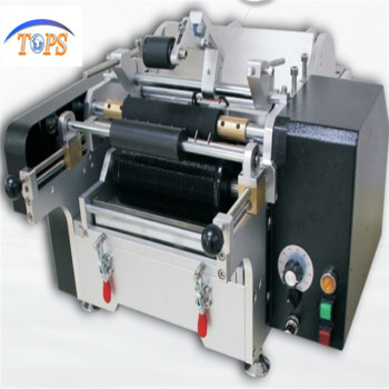 Manual Wet Glue Round Jars Labeling Machine With Paper Label