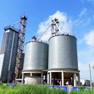 High quality 200ton Hopper bottom cattle feed storage silos selling on  competitive price