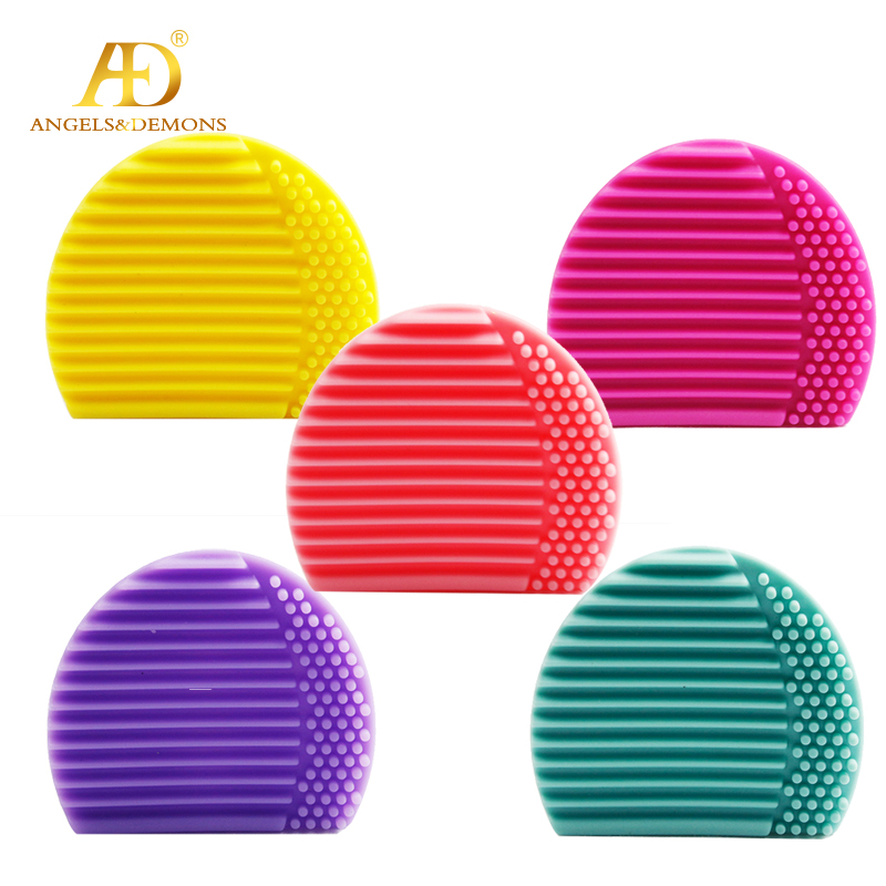 Free <strong>samples</strong> Wholesale <strong>Makeup</strong> Silicone Cleaning Brush Tool