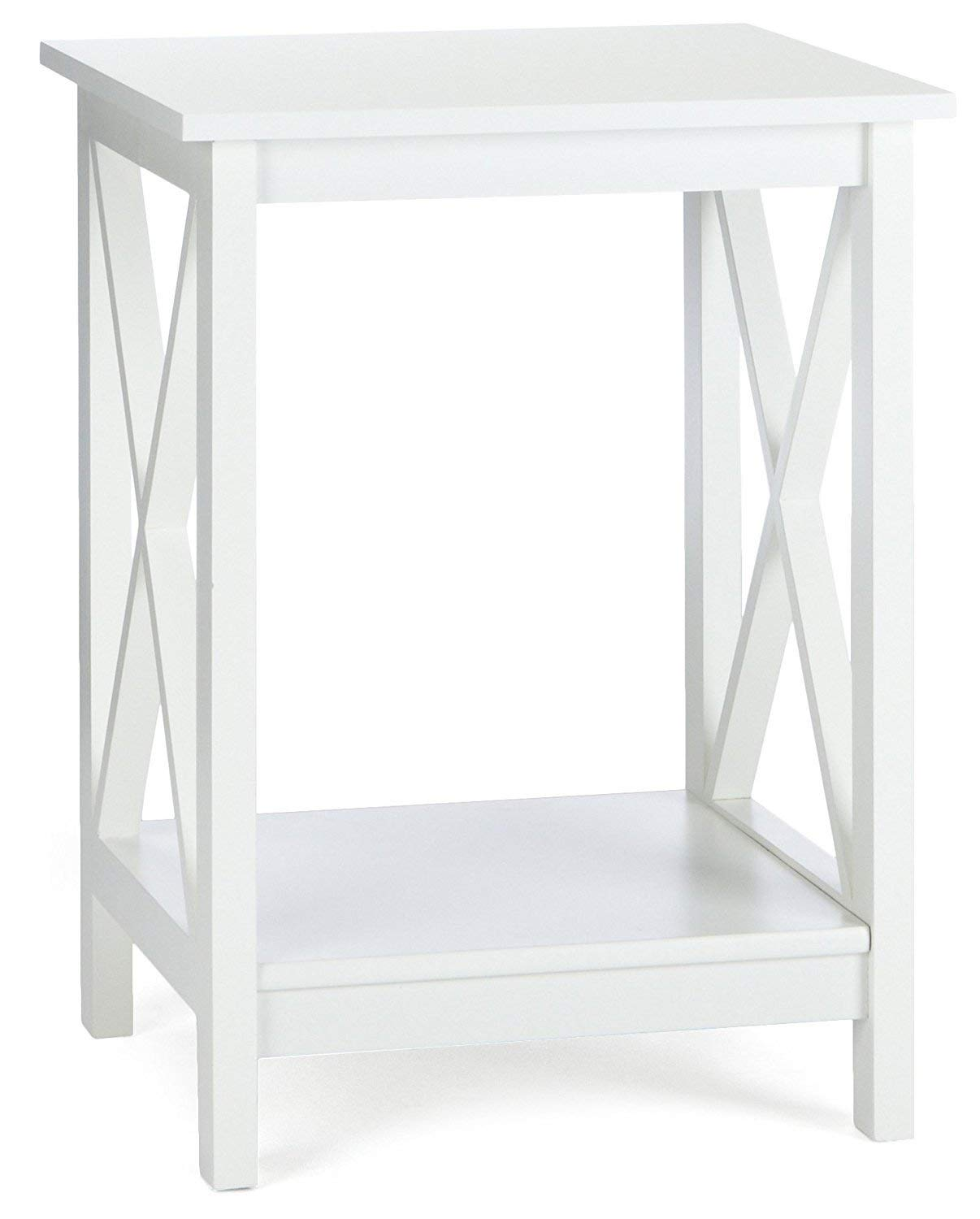 Indoor Multi-Function Accent Table Study Computer Home Office Desk Bedroom Living Room Modern Style End Table Sofa Side Table Coffee Table White coffee table