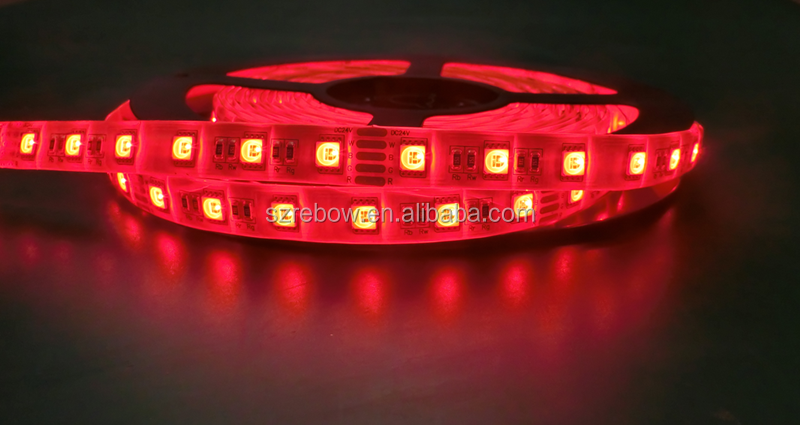 24vdc 12vdc RGBW RGBNW RGBWW RGBCW led strip 4color in 1 led
