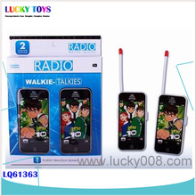 New Products! BEN10 children plastic kid phone walkie talkie toy factory boy toy FASHION PHONE TOYS PHONE gift for kids