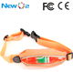 Multi functional private logo spandex Lycra USB rechargeable LED sport running belt waist pack