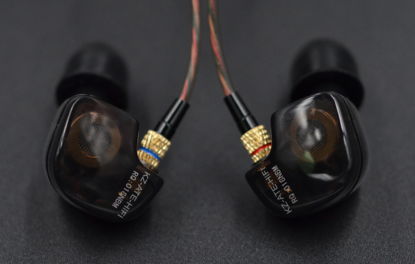 Hot Brand KZ ATE In-ear Noise Cancelling Music Earphone With Mic