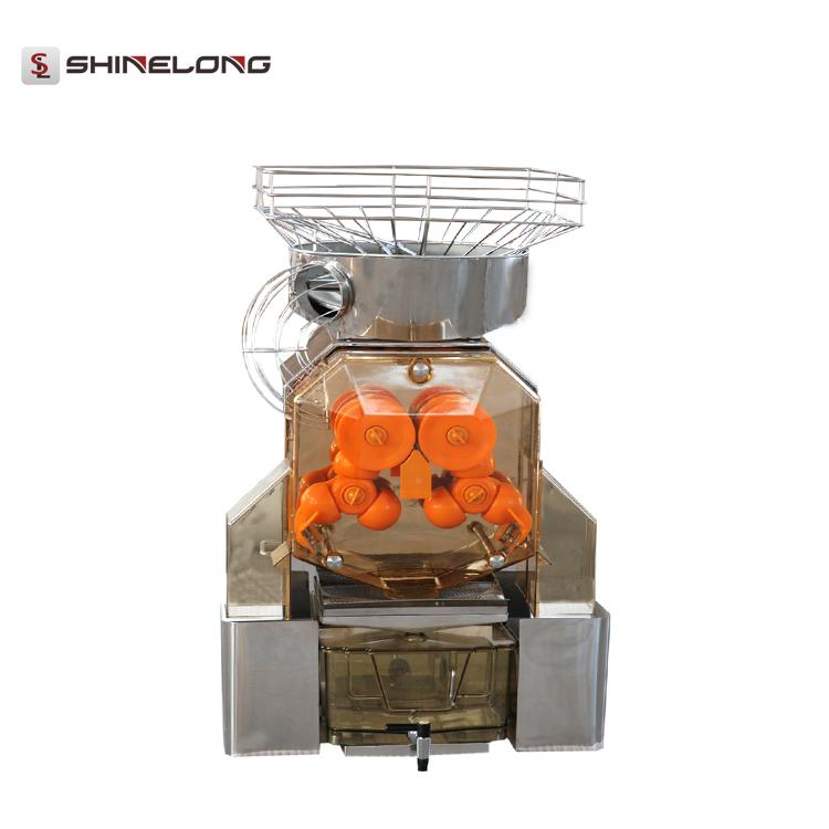 K618 Hotel Restaurant Automatic Orange Juicer With Cabinet