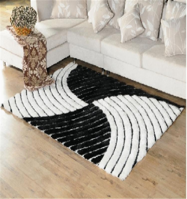 Good Quality 3d Designs Long Pile Polyester Shaggy Carpet