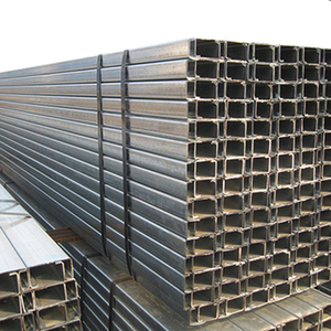 Hot Rolled Carbon Profile C Shaped Metal Building Steel C Channel
