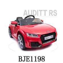 BJE1198 TT RS License Toy Ride on car