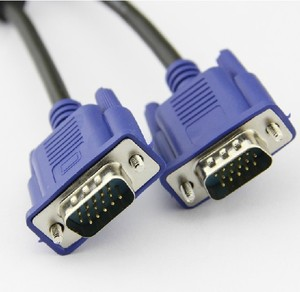 metal shell 15 pin VGA TO DVI cable male to male/female for HDTV LCD Monitor PC computer with best price 2m 3m 6ft 9ft