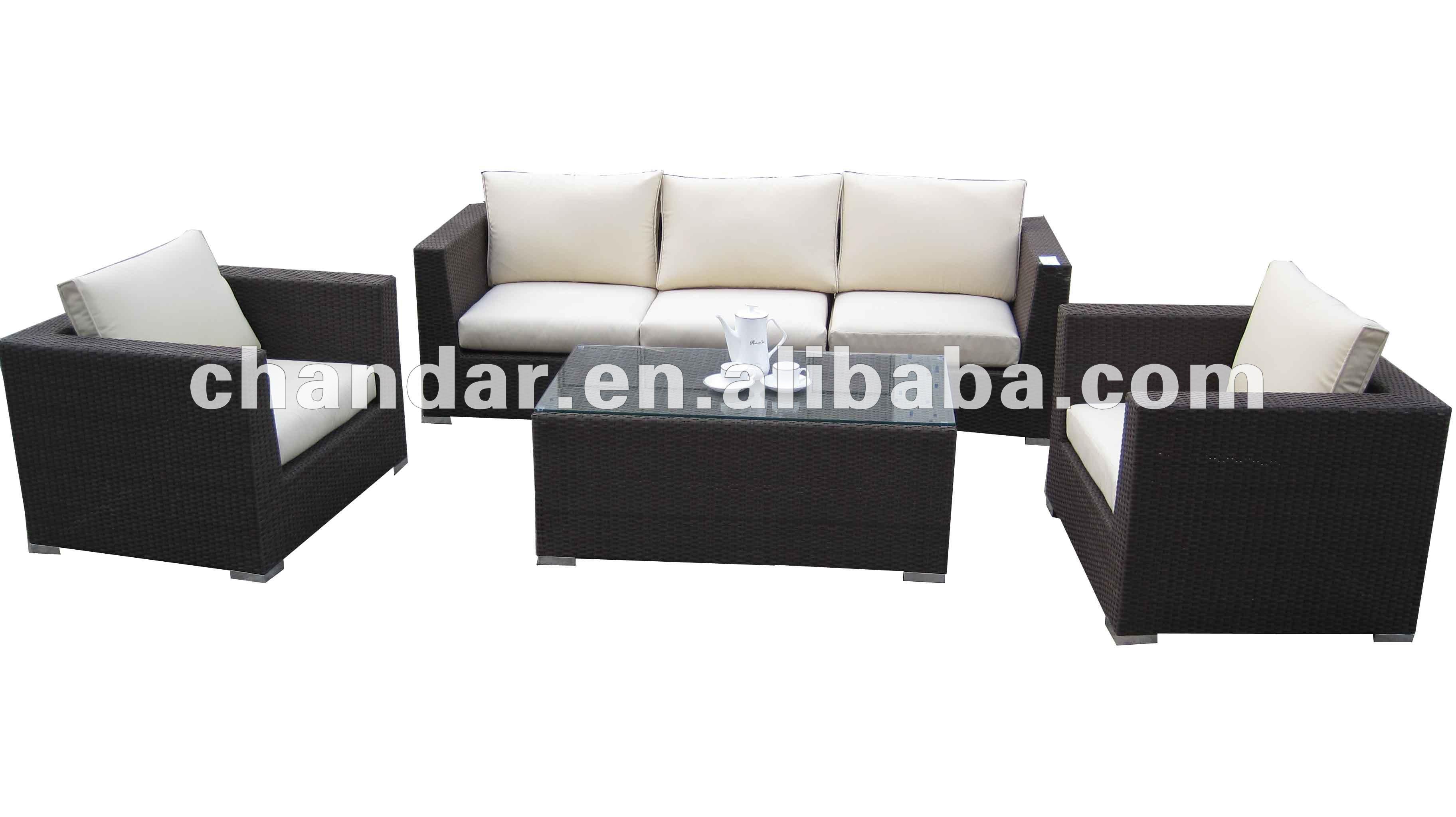 Emejing divano in rattan gallery for Sofa exterior rattan sintetico