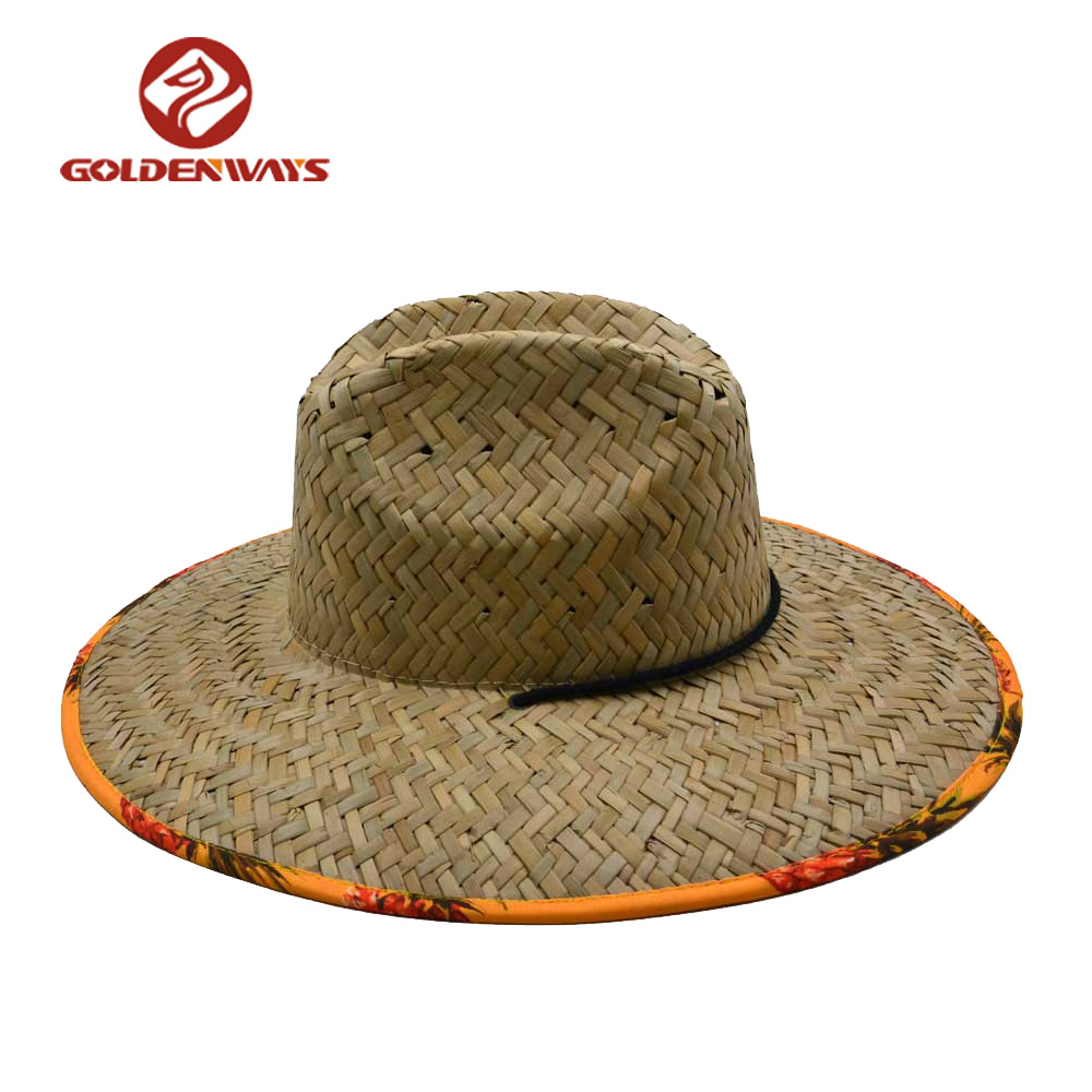 a93b614b06757 Wide Brim Surf Chinese Straw Hat For Men - Buy Chinese Straw Hat ...