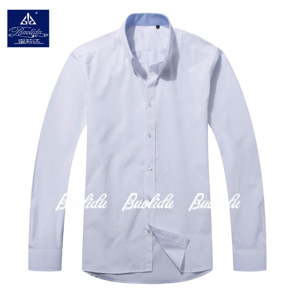Girls/ladies/mujeres formal uniforme escolar blanco puro blusa de algodon