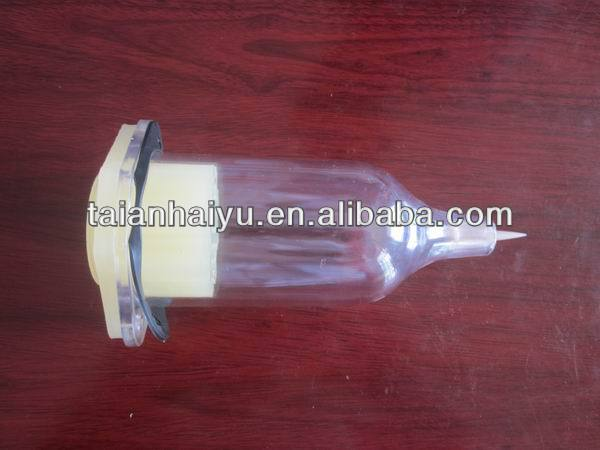 high quality,oil cup used on test bench, plastic material