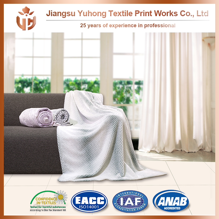 China Leading Manufactory For All Kinds White Sherpa Blanket