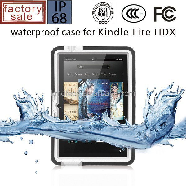 For amazon kindle fire hdx 7 waterproof case