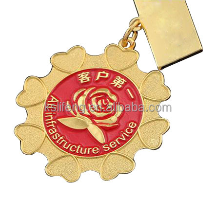 New design China style gold Medals Custom metal award medallion