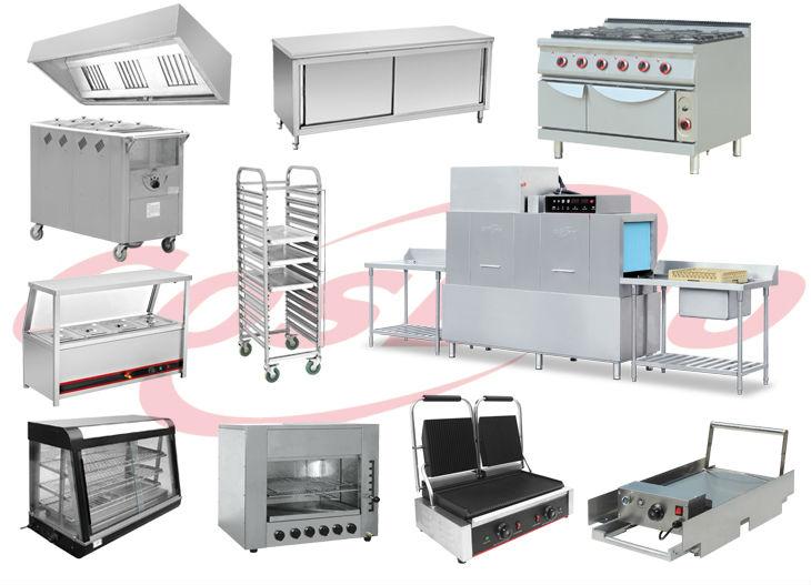 110L Büyük kapasiteli endüstriyel ve ticari paslanmaz çelik gaz fritöz