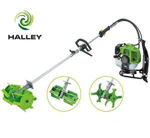 Small backpack gasoline engine grass weeder weeding machine for sale
