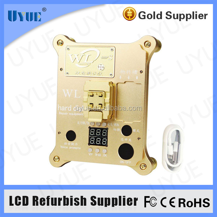WL PCIE Hard Disk Test Stand for iPhone 6S 7 7P IPAD Pro NAND Flash Programmer Expansion Mainboard HDD Serial Number SN Tool