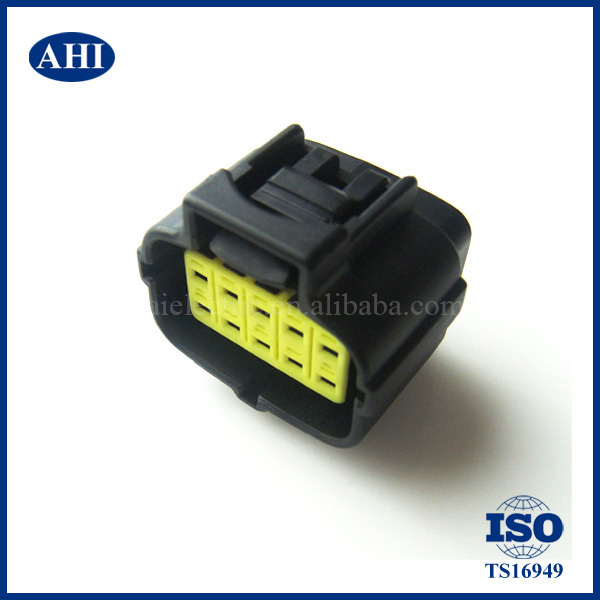 Pegcduu 10PCS Set Impermeabile 1 Pin Way Car plastica Impermeabile connettore Elettrico AWG Plug