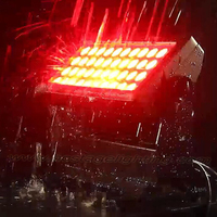 new design waterproof 4in1 RGBW 4 built in auto mode 44*10w led city color