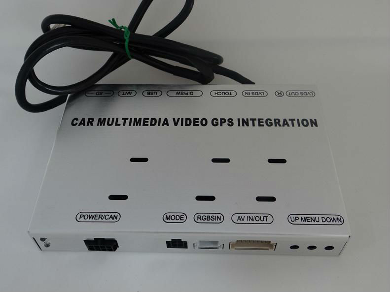 Multimedia Video Interface for RNS315