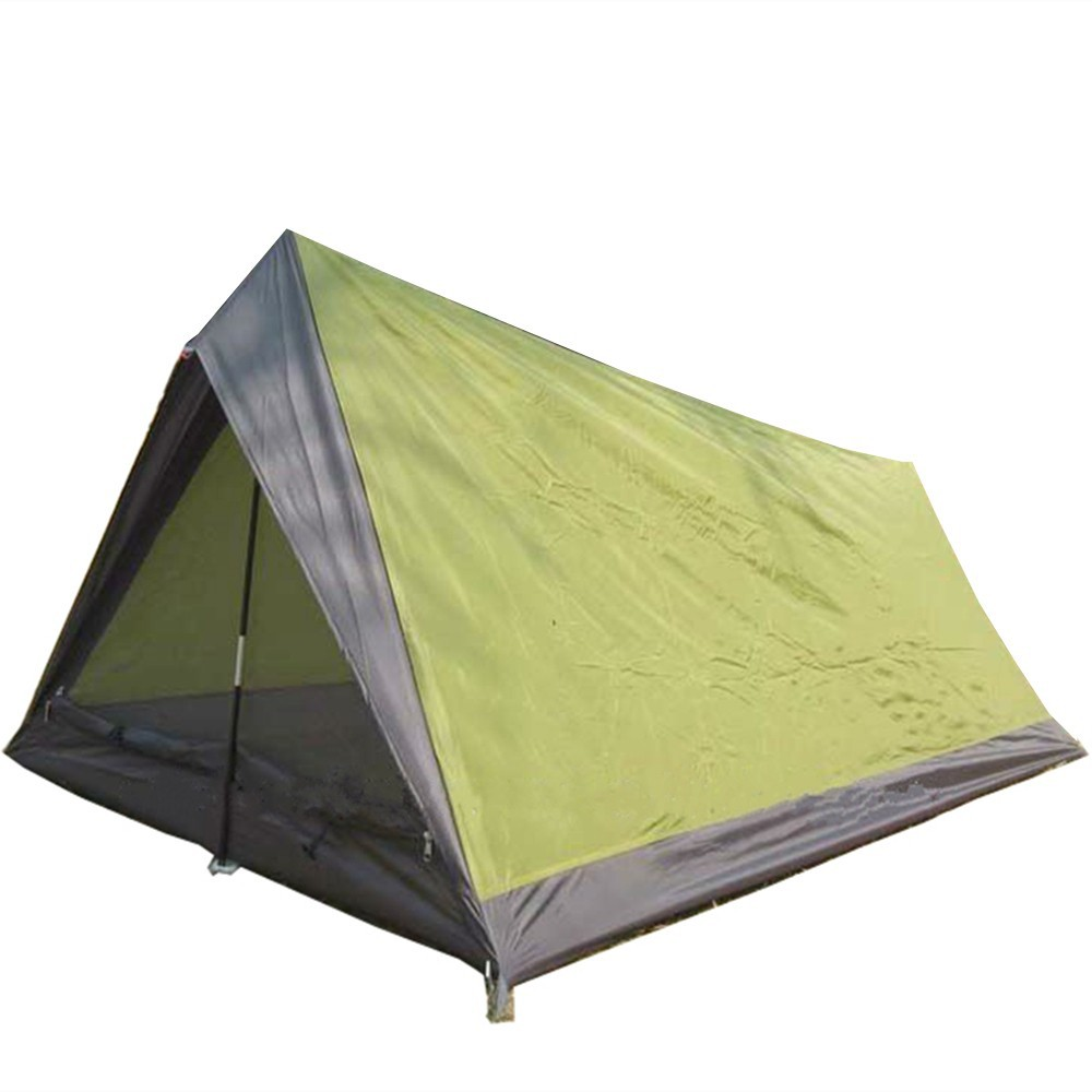 Outdoor Used 2 Person Canvas Camping Tent For Leisure
