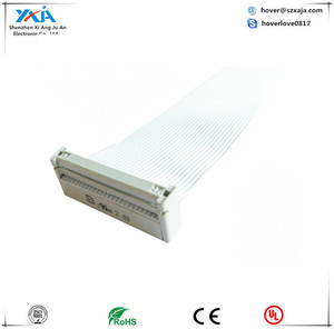HQ silver ribbon cable